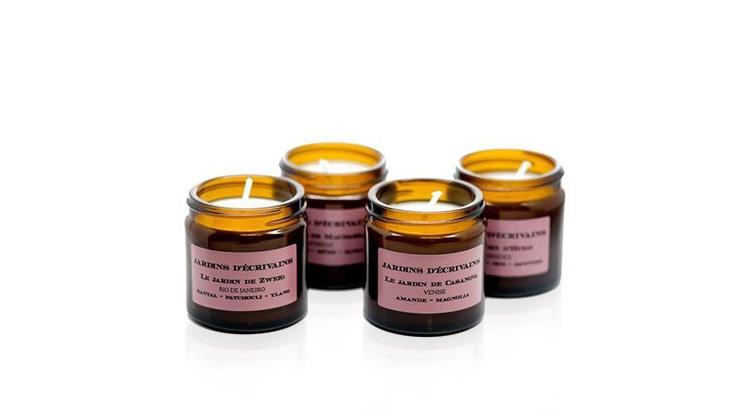 Парфюмированные свечи Jardins d'Ecrivains