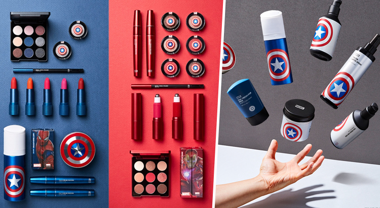Marvel&The Face Shop Collection