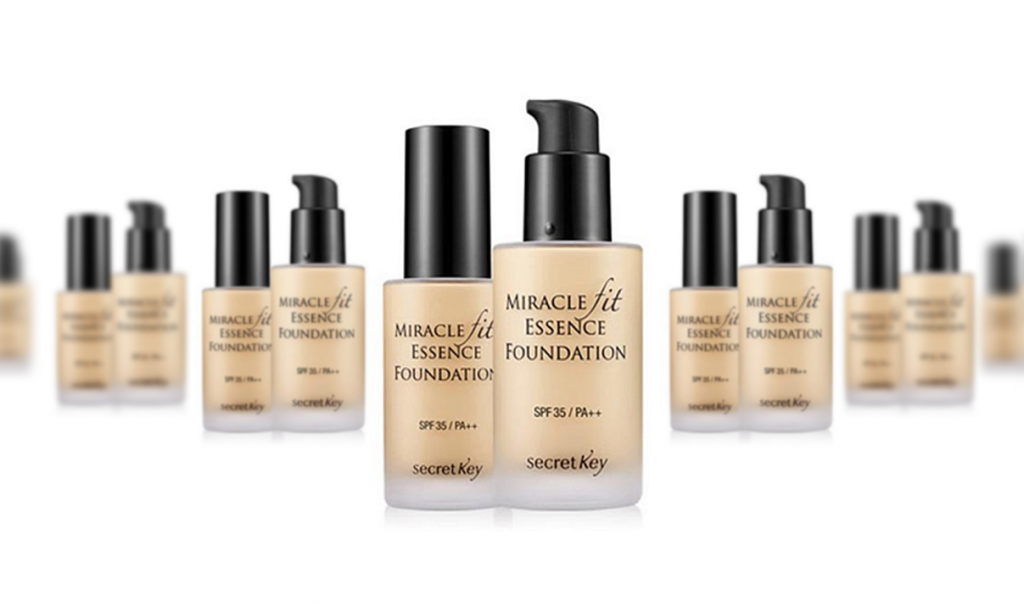 Тональная основа Miracle Fit Essence Foundation, Secret Key