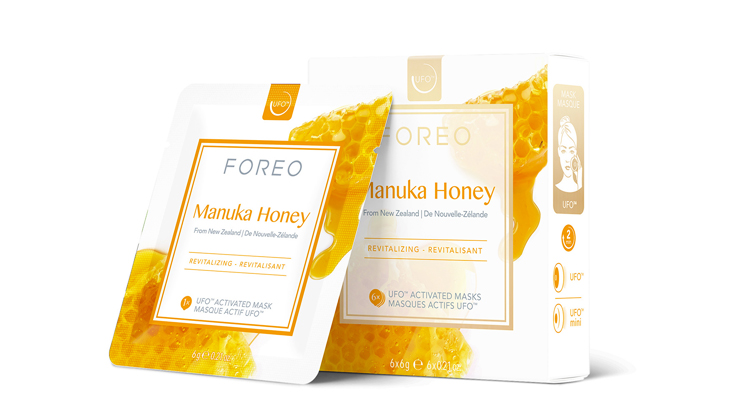 FOREO Farm to Face Collection Mask For Face Manuka Honey