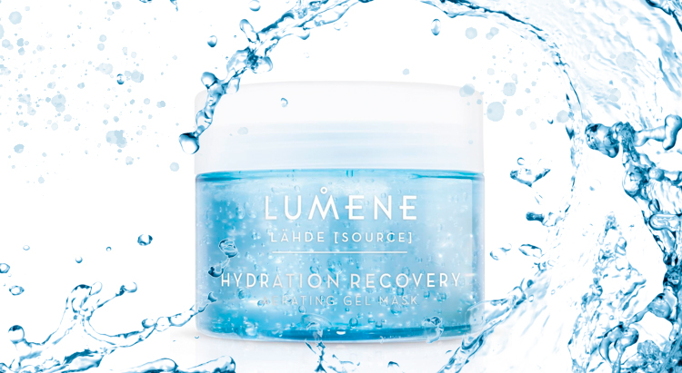Hydration Recovery Aerating Gel Mask, Lähde Lumene