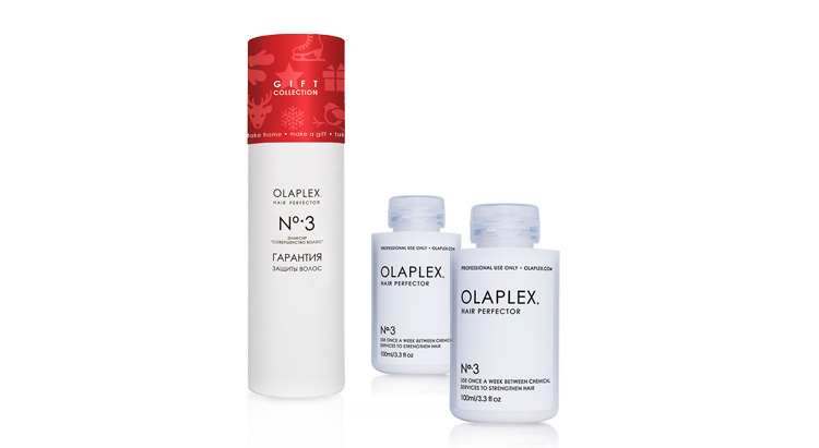 Новогодний набор Gift collection Olaplex No.3 Hair Perfector