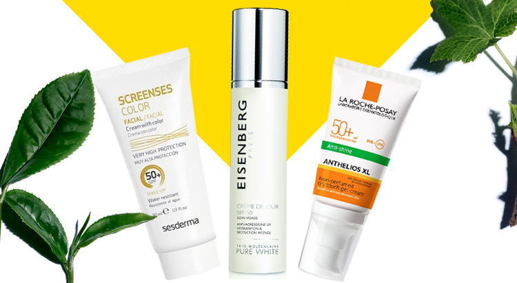 La Roche-Posay Anthelios SPF 50+, Sesderma Screen Ses SPF 50+, EISENBERG Pure White