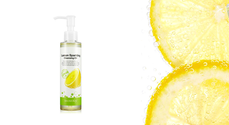 Гидрофильное масло Lemon Sparkling Cleansing Oil от Secret Key
