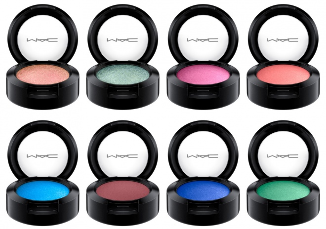 MAC Dazzleshadow Permanent и Eyeshadow Permanent