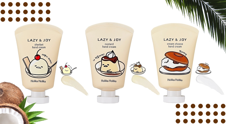 Кремы Gudetama Lazy & Joy Hand Cream Set, Holika Holika