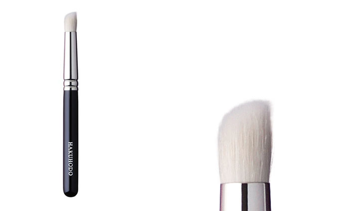BJ125R = J125R Duo Fibre Eye Shadow Brush Round & Angled
