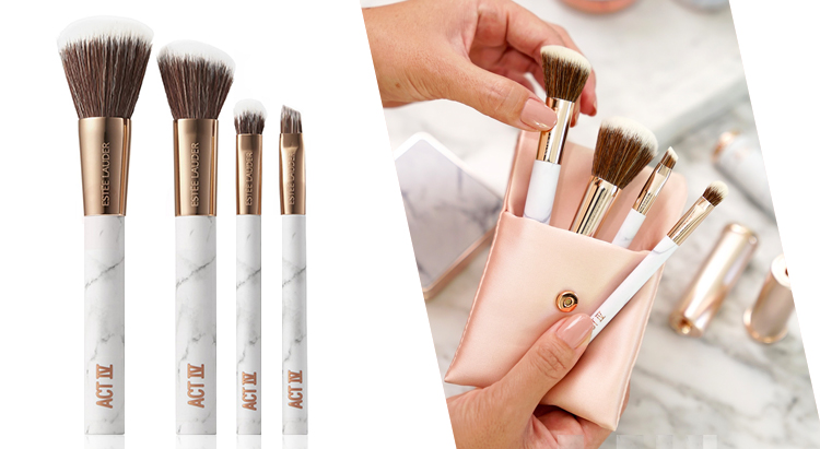 Brushed by Fame Makeup Brush Kit, Estеe Lauder