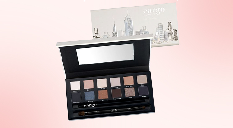 Палетка матовых теней Cargo The Essentials Eye Palette