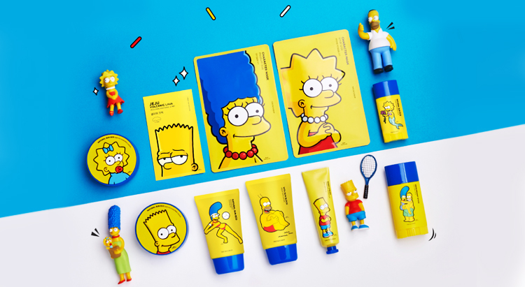 The Simpsons&The Face Shop
