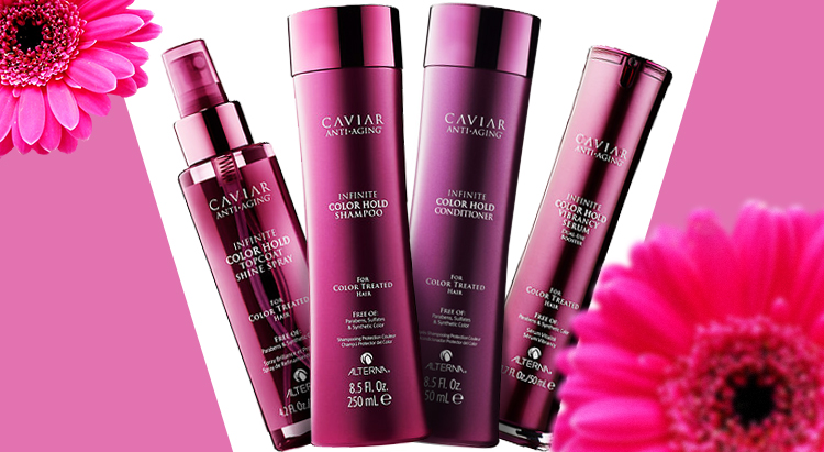 Линейка продуктов Caviar Infinite Color Hold, Alterna