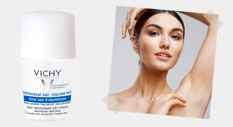 Vichy 24- Hour Dry-Touch Aluminum Free Deodorant