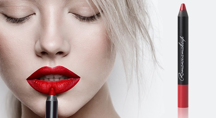 Помада для губ Sexy Lipstick Pen Matte Perfect Red, Romanovamakeup