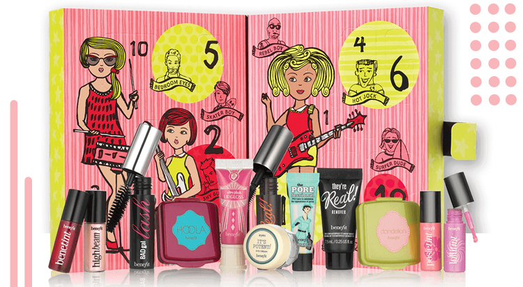 Benefit girl o'clock rock 2016 Advent Calendar
