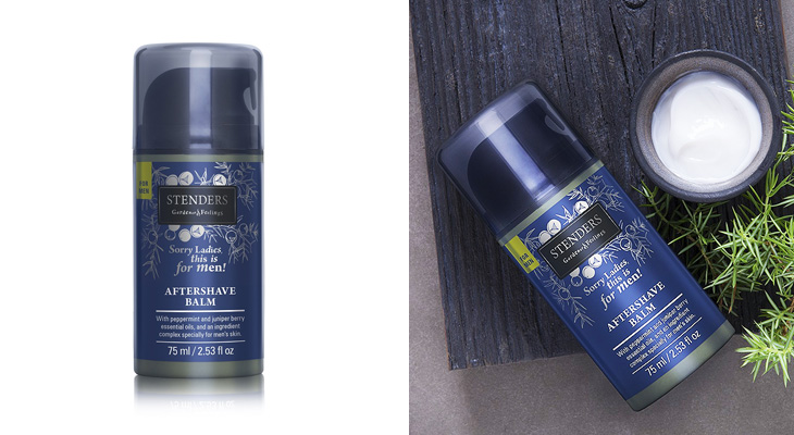 After shave balm for Man и Skrub Soap от Stenders