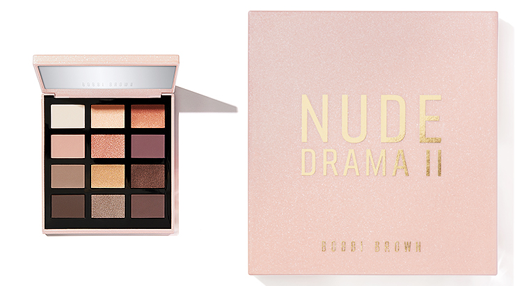 Палетка Nude Drama Eye Shadow Palette, Bobbi Brown