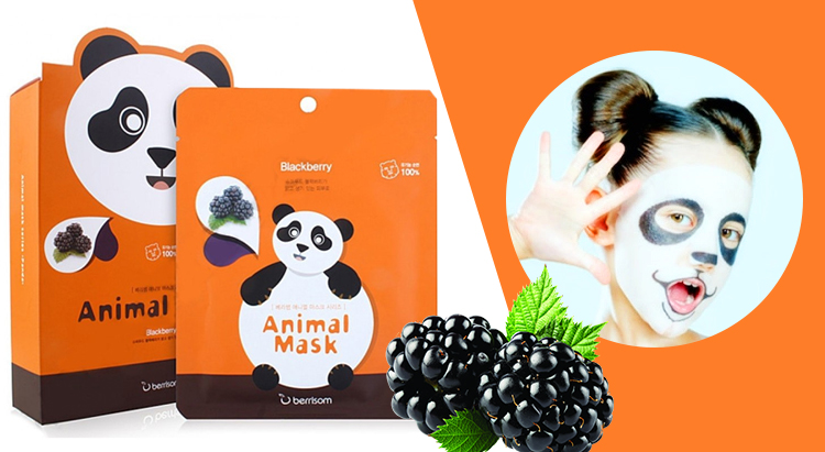 Тканевая маска Panda Animal Mask, Berrisom