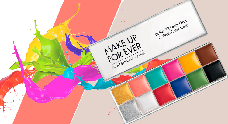 Палетка Flash Palette от Make Up For Ever