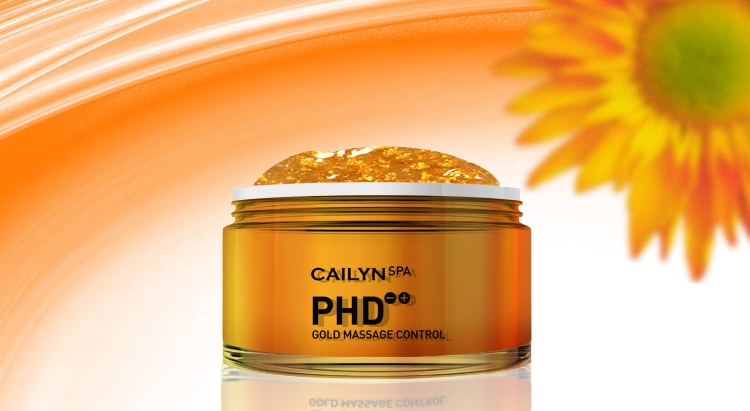 Массажная маска для лица PHD Gold Massage, Cailyn