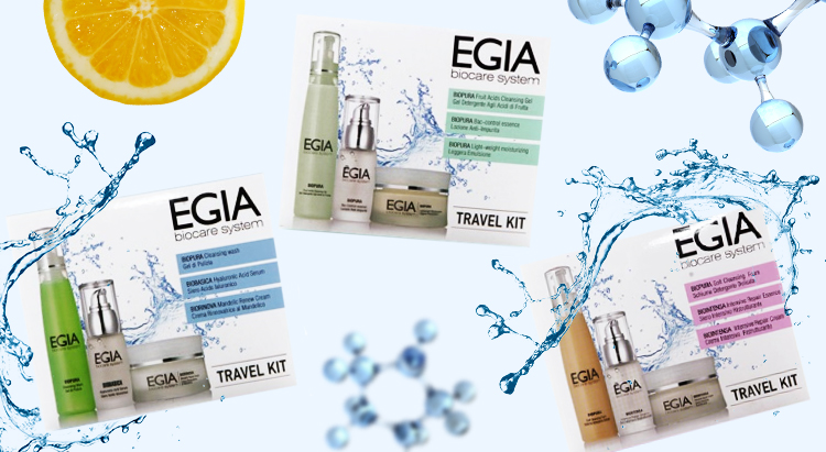 Дорожный набор Travel Kit Anti-age Care, Egia Biocare System