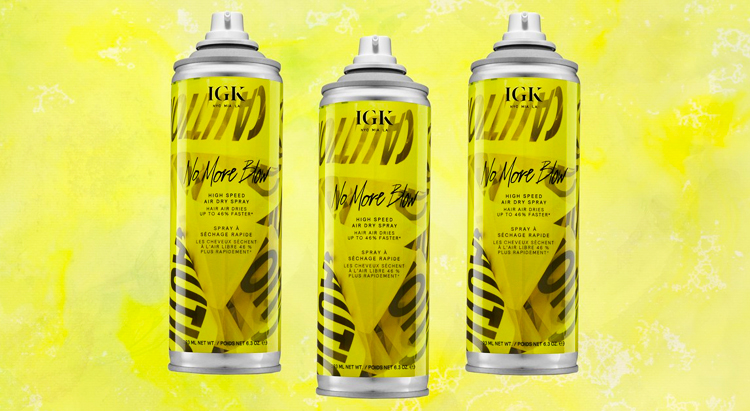 No More Blow – High Speed Air Dry Spray, IGK