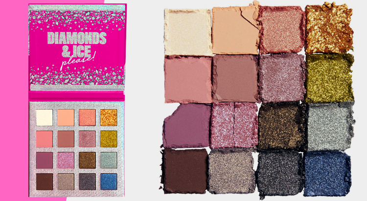 Diamonds & Ice, Please Mega Shadow Palette, NYX