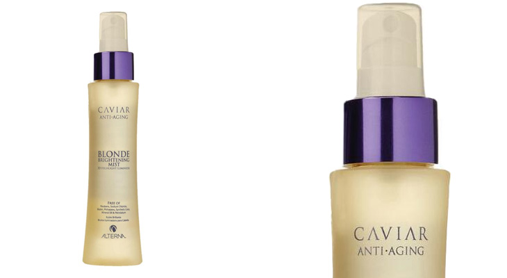 Caviar anti-aging blonde brightening mist