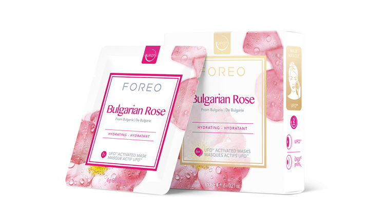 FOREO Farm to Face Collection Mask For Face Bulgarian Rose