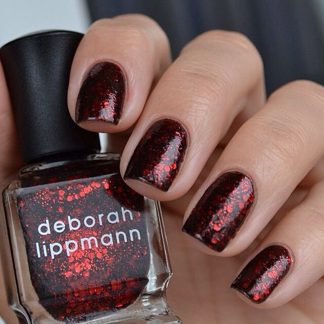 Deborah Lippmann Ruby red slippers glitter