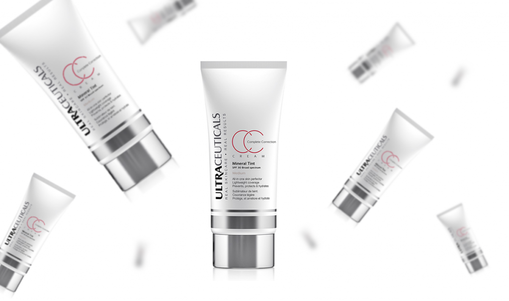 Тонирующий CC крем Complete Correction Cream Mineral Tint, Ultraceuticals