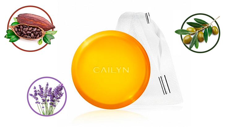 Очищающее мыло в саше Cailyn Mummy Whipping Bubble Cleansing Bar
