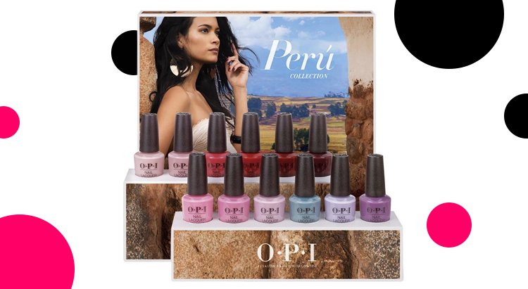 Peru Collection by OPI Fall 2018