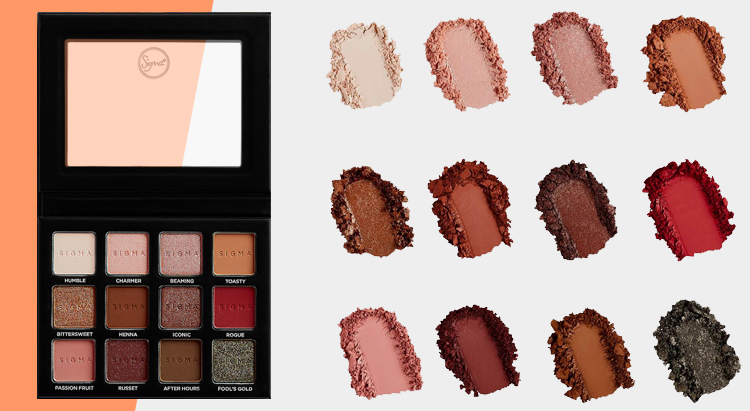 SIGMA BEAUTY - Warm Neutrals Volume 2