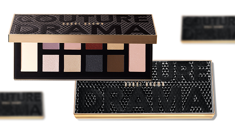 Палетка Couture Drama Eye Shadow Palette, Bobbi Brown
