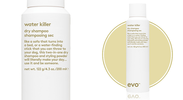 Water Killer Dry Shampoo, Evo