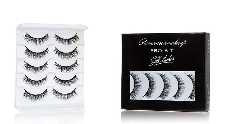 Накладные ресницы Romanovamakeup Silk Lashes ProKit (only S5)