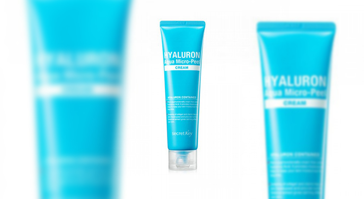 Hyaluron Aqua Micro-peel cream, Secret Key