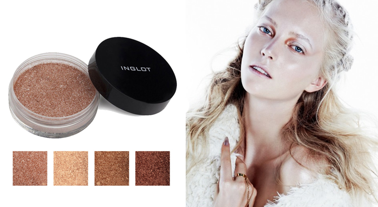 Пудра-хайлайтер Sparkling dust FEB, Inglot
