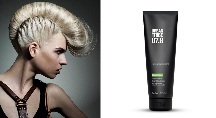 URBAN TRIBE 07.8 Lock N Shine Extreme Fixing Gel