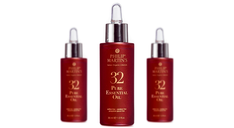 32 Pure Essential Oil, Philip Martin's