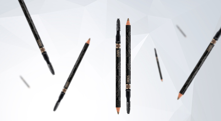 Пудровый карандаш для бровей Powder Brow Styling Pencil, SENNA