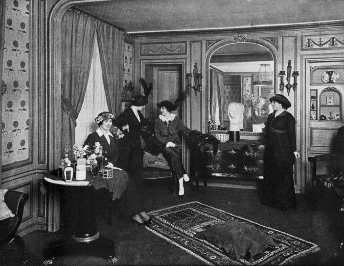Rubinstein's Salon, Paris, 1913
