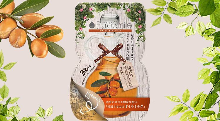 Natural Oil-in-Mask, Pure Smile
