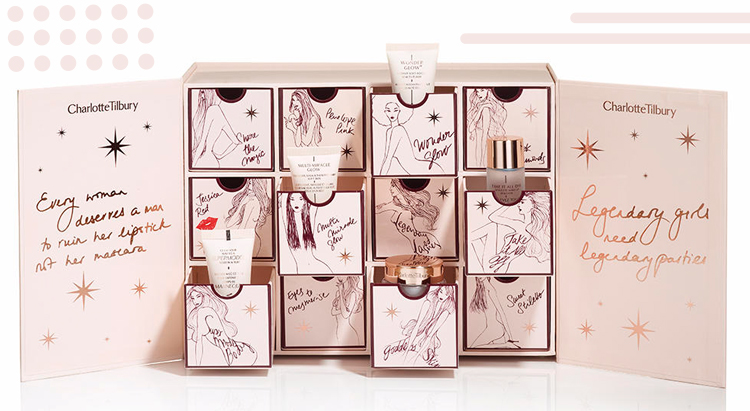 Charlotte Tilbury World of Legendary Parties 2016 Holiday Advent Calendar