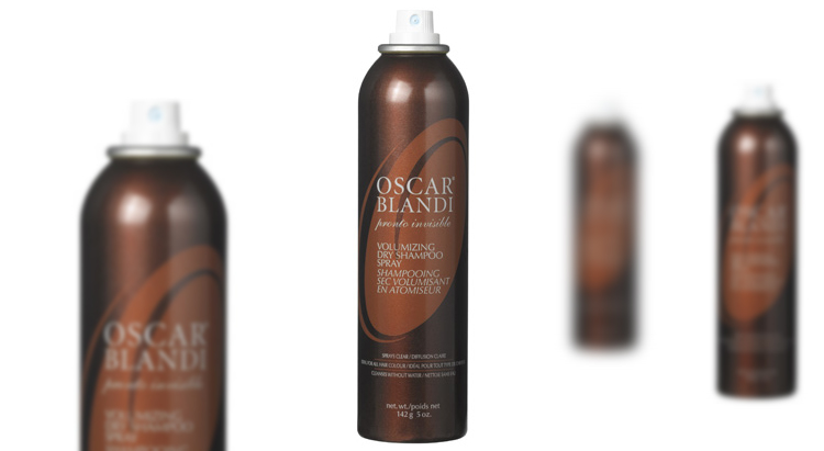 Сухой шампунь Pronto Invizible Volumizing Dry Shampoo Spray Clear,Oscar Blandi