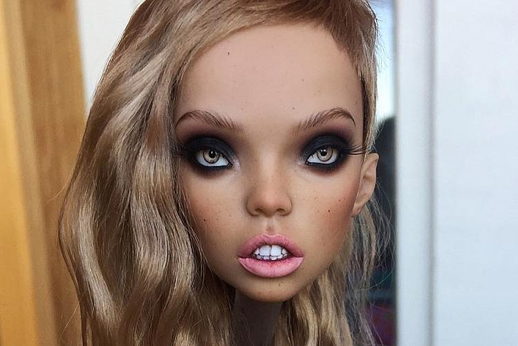 мейк куклы фото