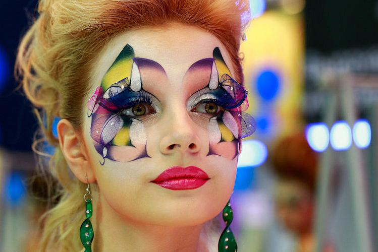 вируса должно фантазийный макияж фото пошагово выведения даже